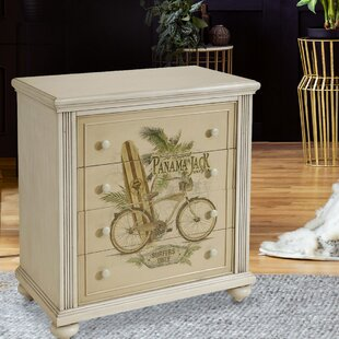 Tekoa 4 Drawer Nightstand by Highland Dunes