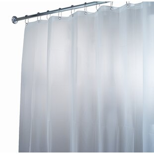 Compare EVA Vinyl Shower Curtain ByInterDesign