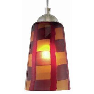 Carnevale 1-Light Cone Pendant by Oggetti