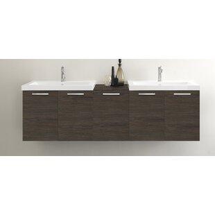 Welke 69 inch  Double Bathroom Vanity Set
