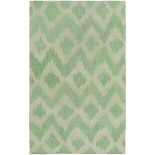 Find for Arbuckle Hand-Tufted Grass Green/Moss Area Rug ByBungalow Rose