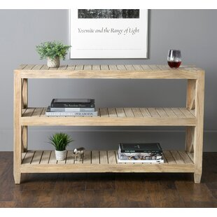Haralson Rustic Console Table