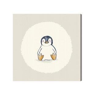 Zoe Penguin Canvas Art