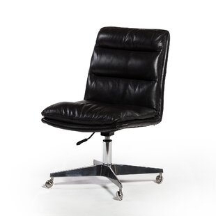 Souders Genuine Leather Task Chair