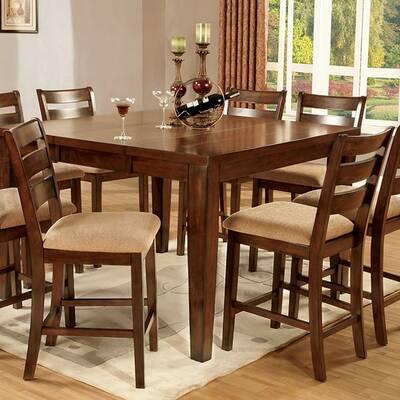 Westbury 9 Piece Counter Height Drop Leaf Dining Set