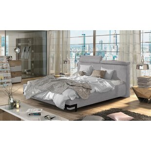 Zeveren Upholstered Storage Platform Bed with Mattress