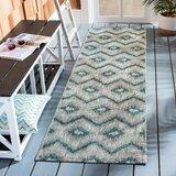 Kaysie Gray/Blue Indoor/Outdoor Area Rug