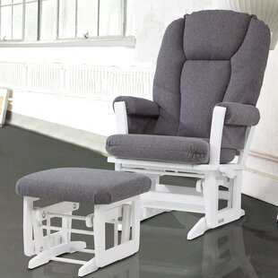 Modern Glider-Multiposition Recline and Ottoman by Dutailier