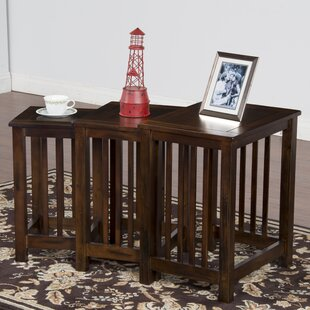 Compare Fresno 3 Piece Nesting Tables By Loon Peak