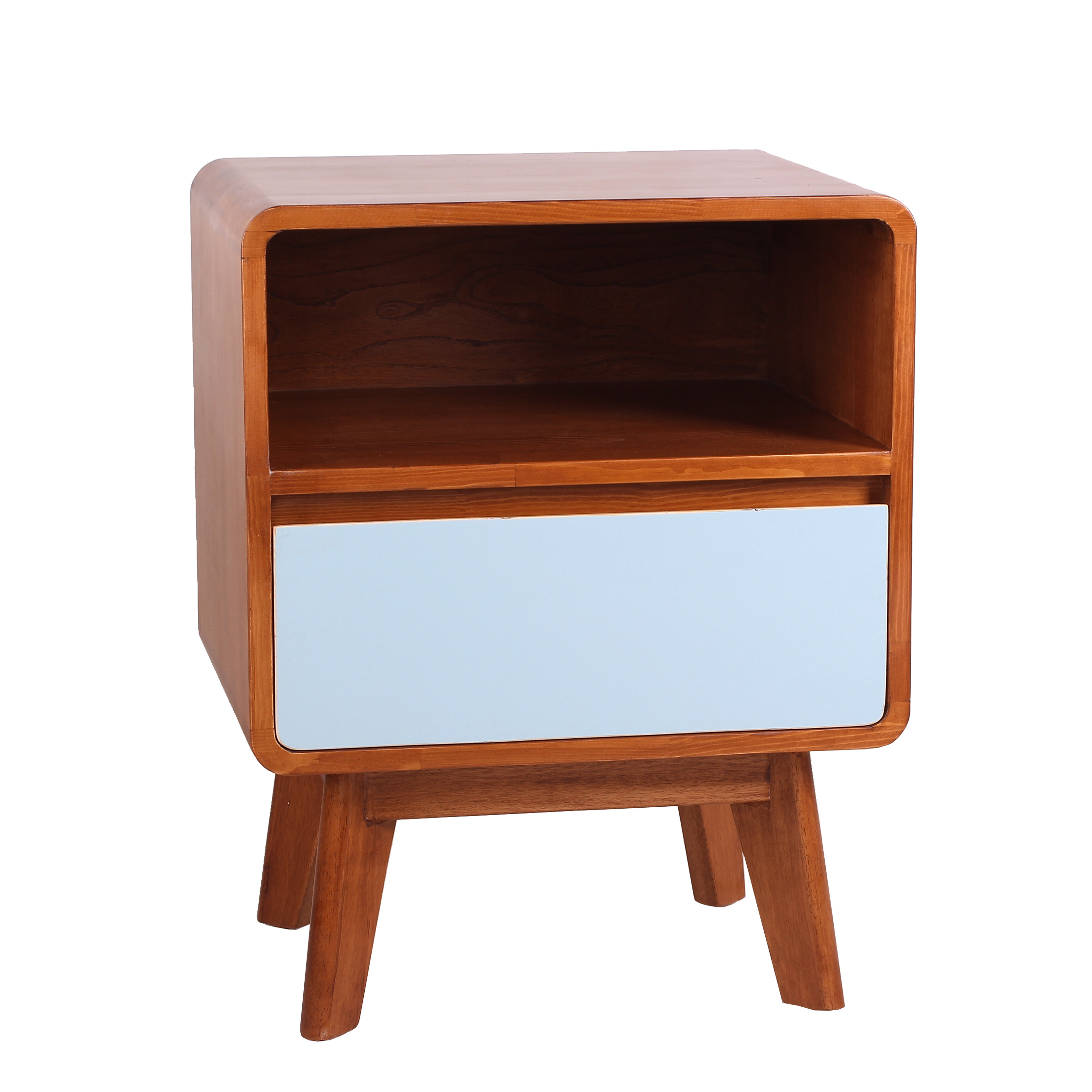 Porthos Home Wendy End Table With Storage Wayfair