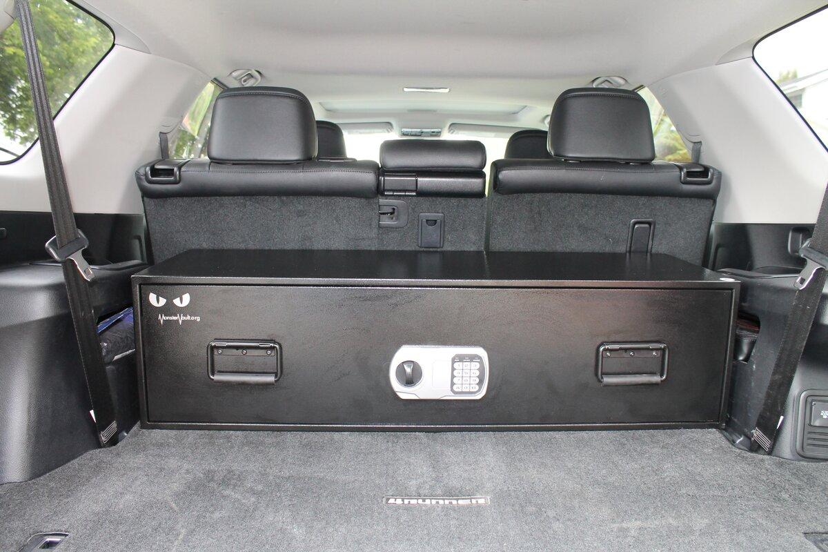 Dual Lock Closet And SUV Safe