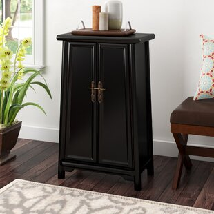 Heritage 2 Door Storage Accent Cabinet by Three Posts