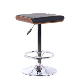 Canchola Height Adjustable Swivel Bar Stool By Wade Logan