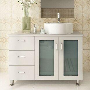 Swearingen 39 Single Vessel Modern Bathroom Vanity Set by Ebern Designs