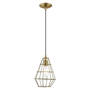 Williston Forge Leisa 1-Light Geometric Pendant