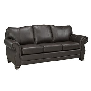huntington italian leather sofa