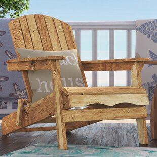 Surrey Wood Adirondack Chair with Ottoman