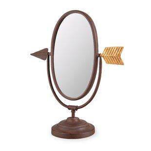 Foreside Home & Garden Arrow Makeup/Shaving Mirror