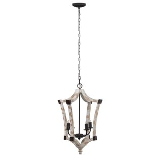 Gardin 4-Light Chandelier by A..