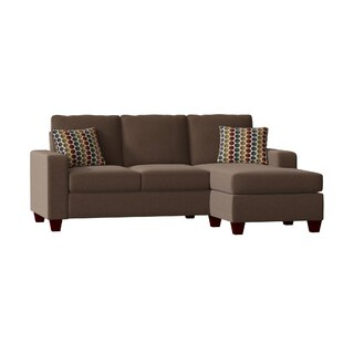 Shop Morpheus Sectional with Ottoman by Mercury Row