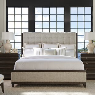 Barclay Butera Brentwood Tufted Upholstered Platform Bed