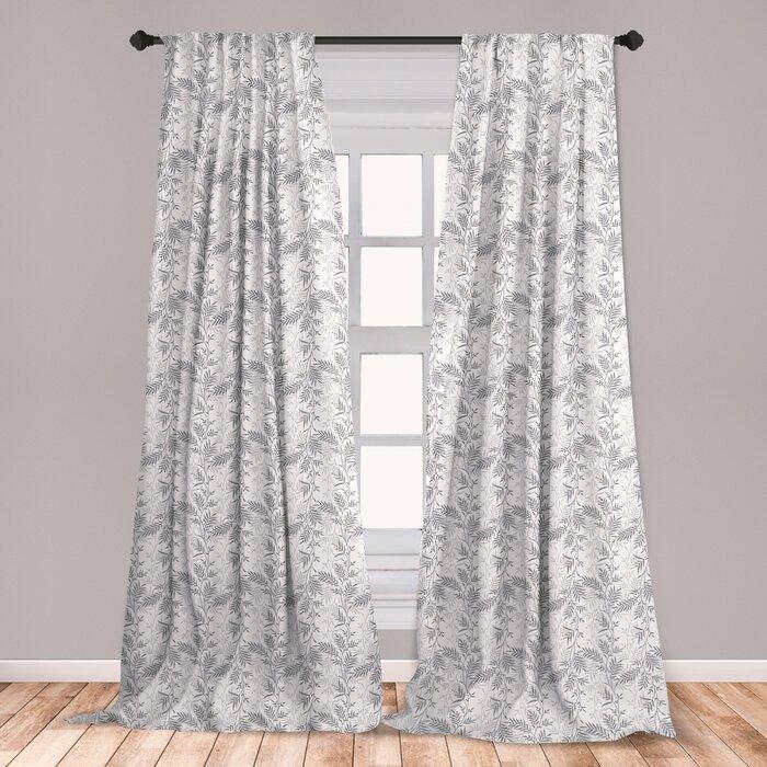Room Darkening Rod Pocket Curtain Panels
