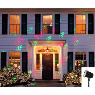 The Holiday Aisle 2 Light Laser Projector Lighting