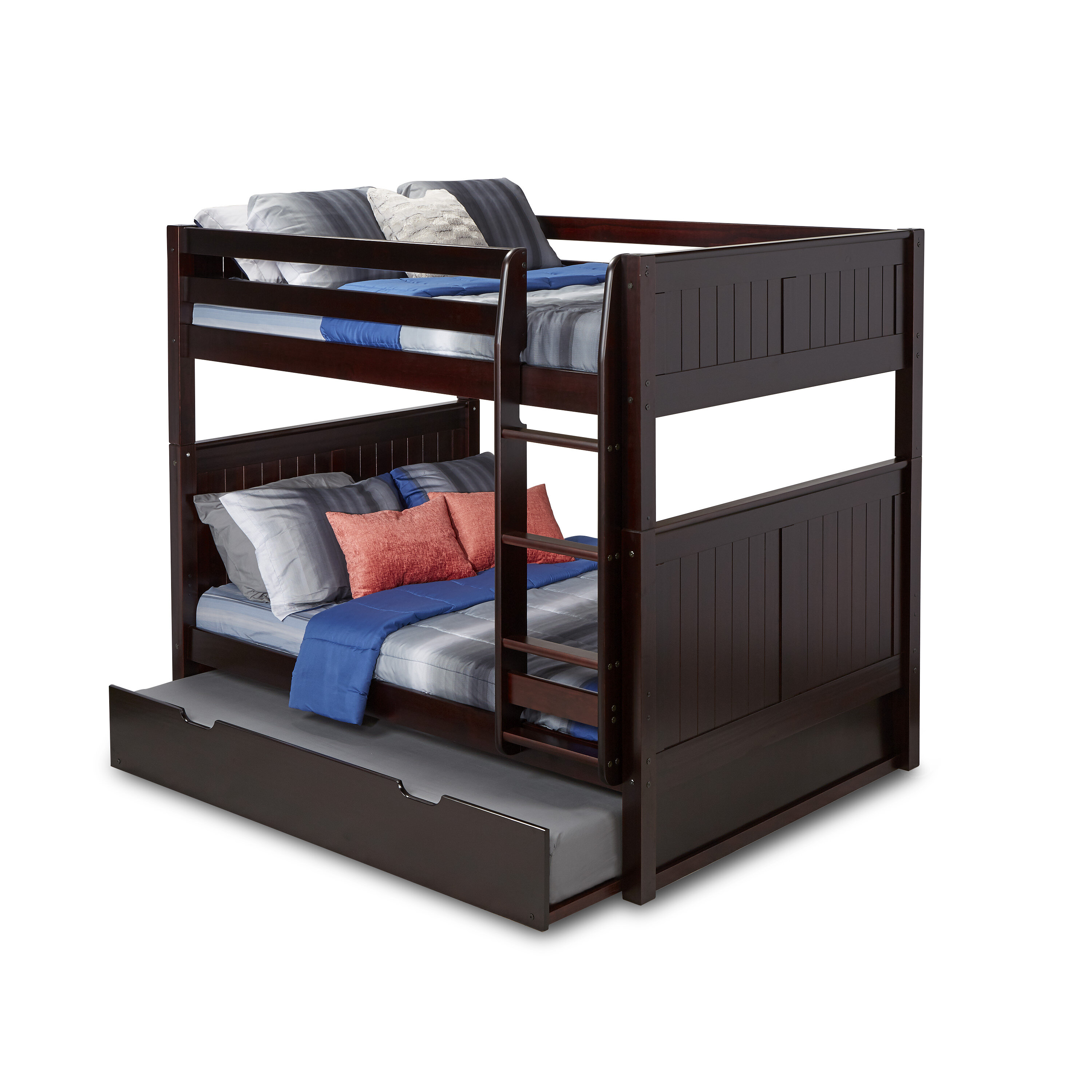 Picture of: Viv Rae Amani Full Over Full Bunk Bed With Trundle Reviews