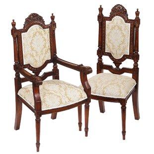 Design Toscano Salon des Rosiers Side Chair
