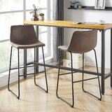 Donatienne Counter & Bar Stool (Set of 2) by 17 Stories