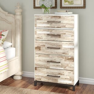 Marston 5 Drawer Chest by Gracie Oaks