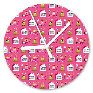 Princess Home 13cm Analogue Wall Clock by I-like-Paper