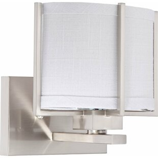 Orren Ellis Heyward 1-Light Bath Sconce