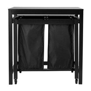 Stainless Steel Camping Table Trash Bag Holder Independent Grid Shelf Kit