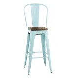 Cambrie Metal 30 Bar Stool by Williston Forge