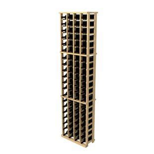 Rustic Pine 84 Bottle Wall Mounted Wine R..
