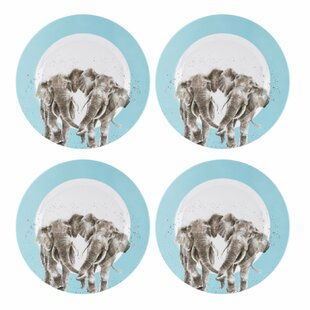 Wrendale Melamine Dinning Plate (Set Of 4) By Royal Worcester