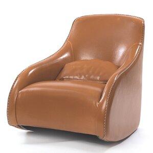 Villanueva Baseball Glove Leather Club Chair..
