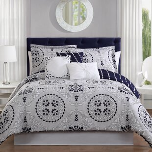 Bailey 7-Piece Reversible Comforter Set by Studio17