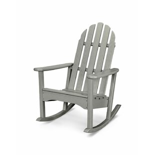 Rocker Plastic Adirondack Rocking Chair