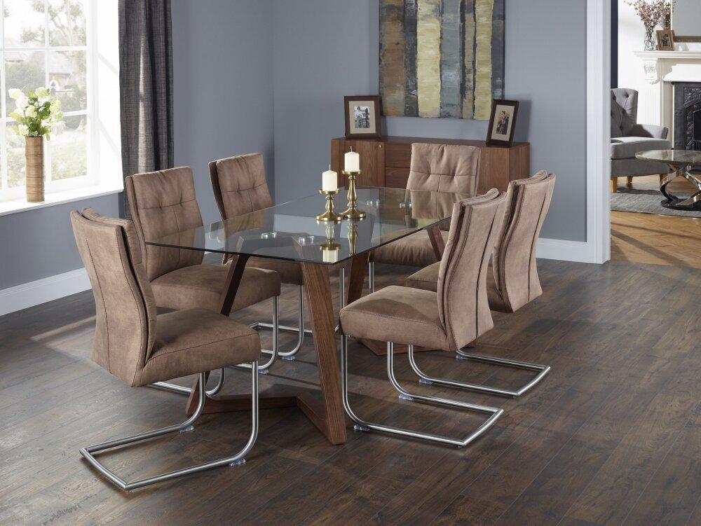 orren ellis essgruppe phelan mit 6 st hlen bewertungen. Black Bedroom Furniture Sets. Home Design Ideas