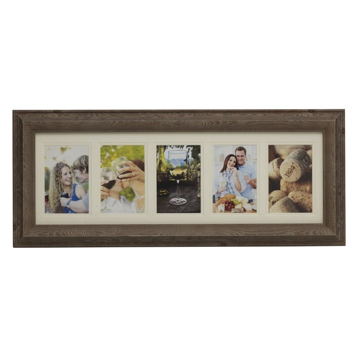 Melannco 5-Opening Plastic Collage Picture Frame & Reviews | Wayfair.ca