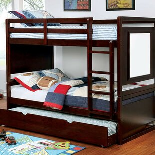 Galvez Twin over Twin Bunk Bed by Harriet Bee