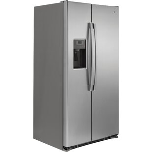 21.9 cu. ft. Side-by-Side Refrigerator by GE Appliances