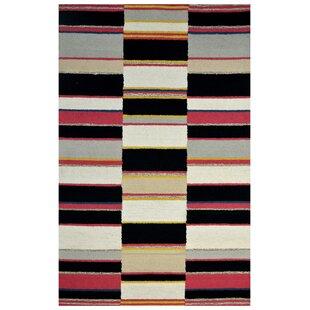Wool Hand-Tufted Red/Black Area Rug ByEastern Weavers