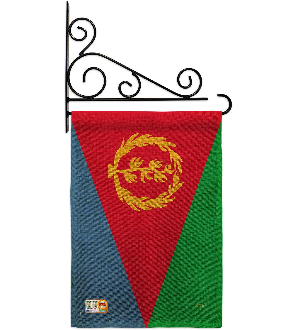 Breeze Decor Eritrea 2 Sided Burlap 19 X 13 In Garden Flag Wayfair