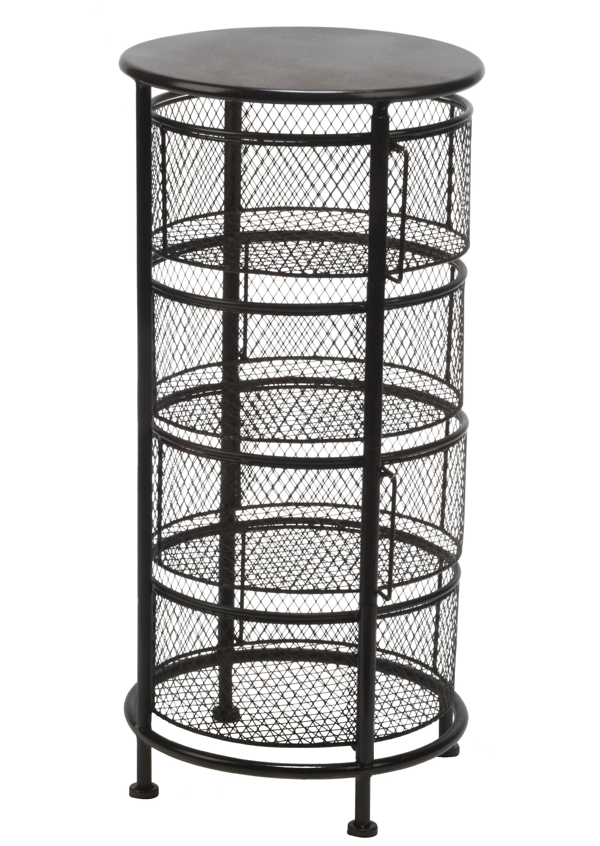 Incroyable Williston Forge Meisel Bin Mesh Swivel Display 4 Drawer Storage Chest |  Wayfair