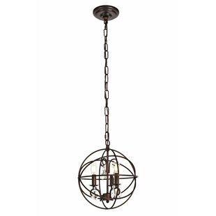 Globe pendant lights youll love wayfair biddlesden 3 light globe pendant aloadofball Images