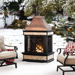 Freestanding Outdoor Fireplace Wayfair