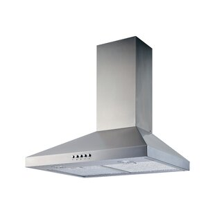 36 400 CFM Convertible Wall Mount Range Hood by Winflo